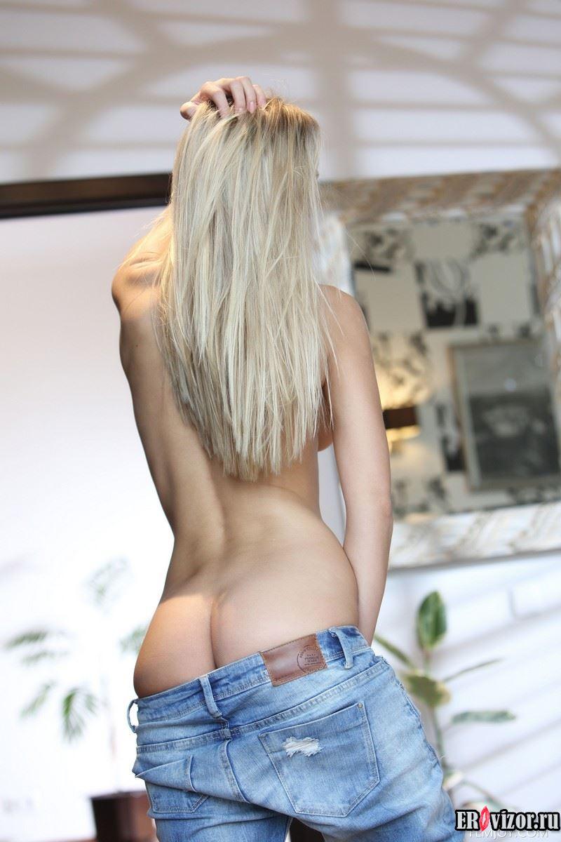 красивая стройная блондинка фото эротика 4