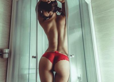 эротическое фото красивая девушка сзади