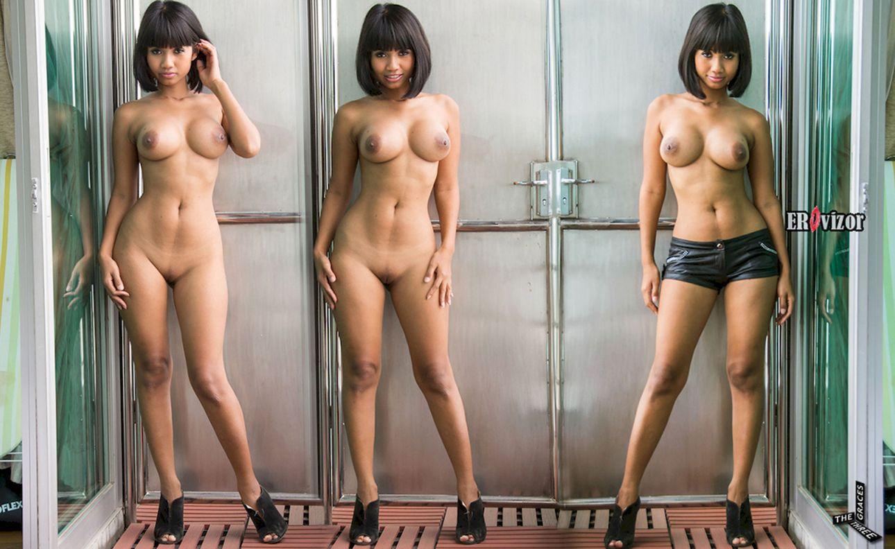 фото голой девушки 3 в 1