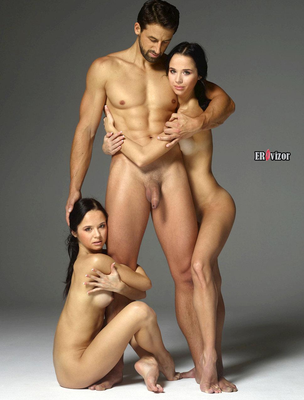 красивые фигуру голых девушек и мужчины