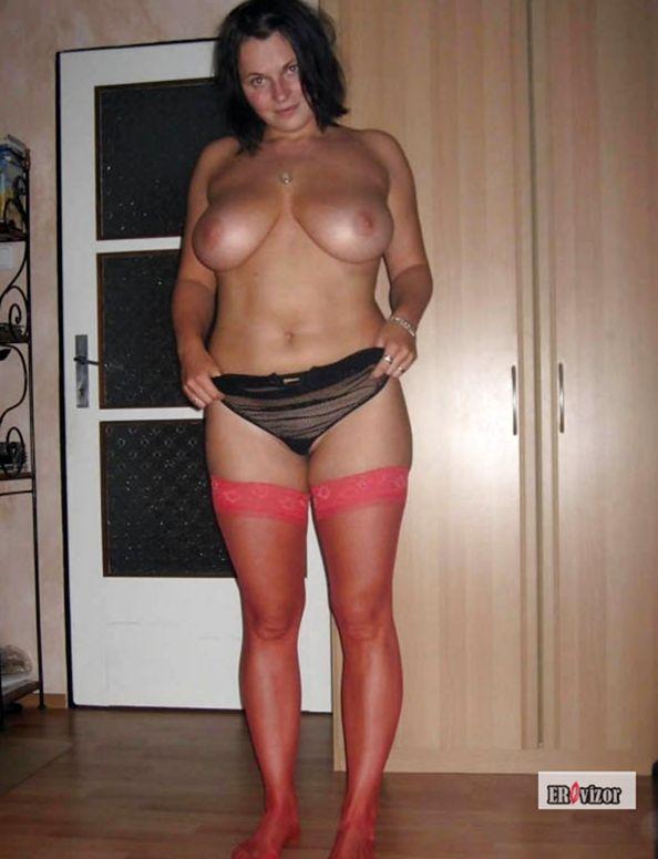 частное фото дамы с большой грудью