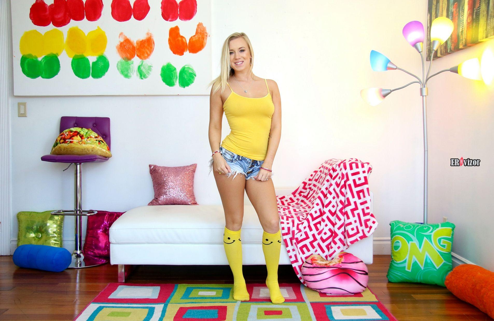 Blonde-Bailey-Brooke-Wearing-Socks (1)