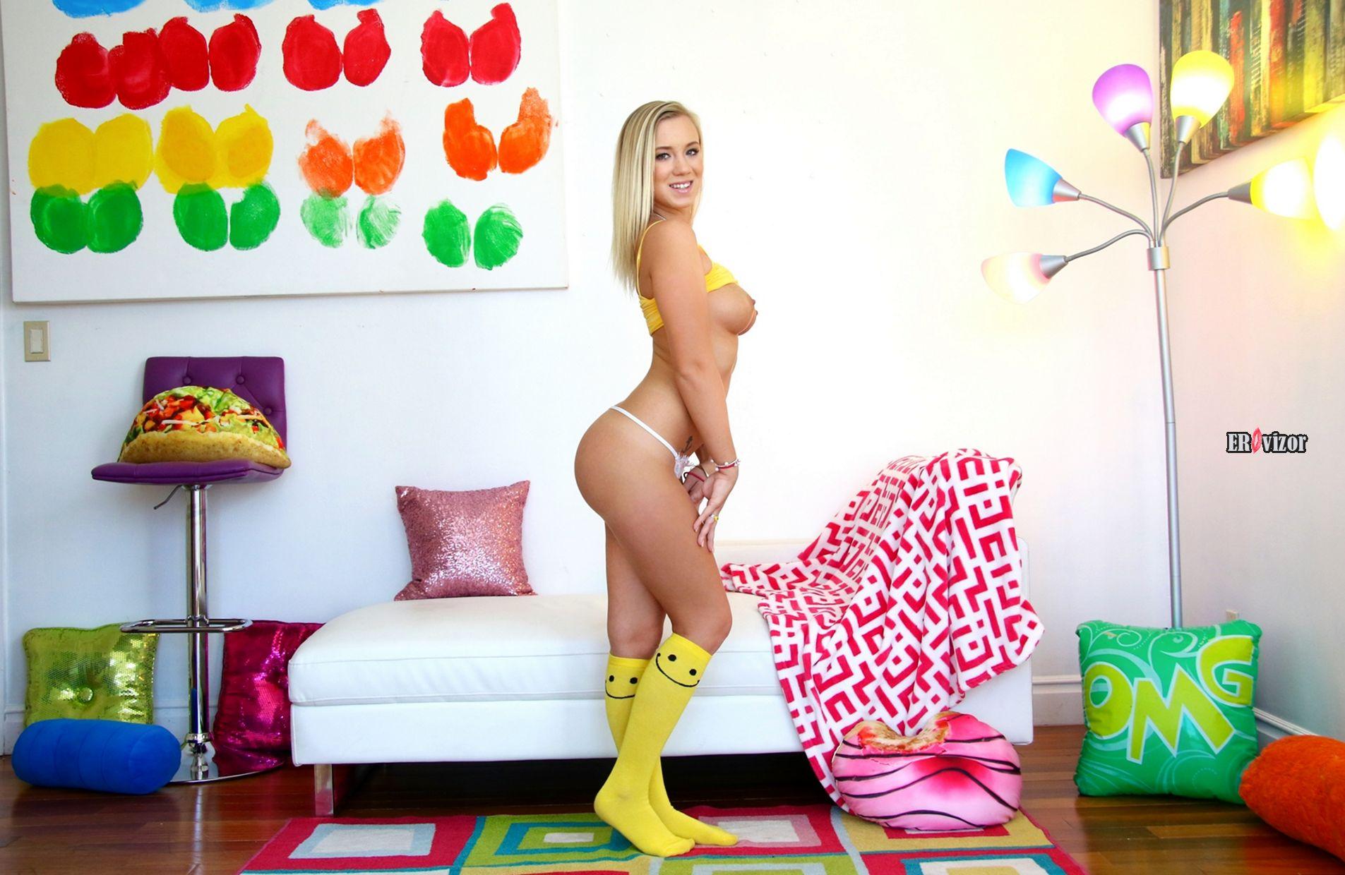 Blonde-Bailey-Brooke-Wearing-Socks (4)
