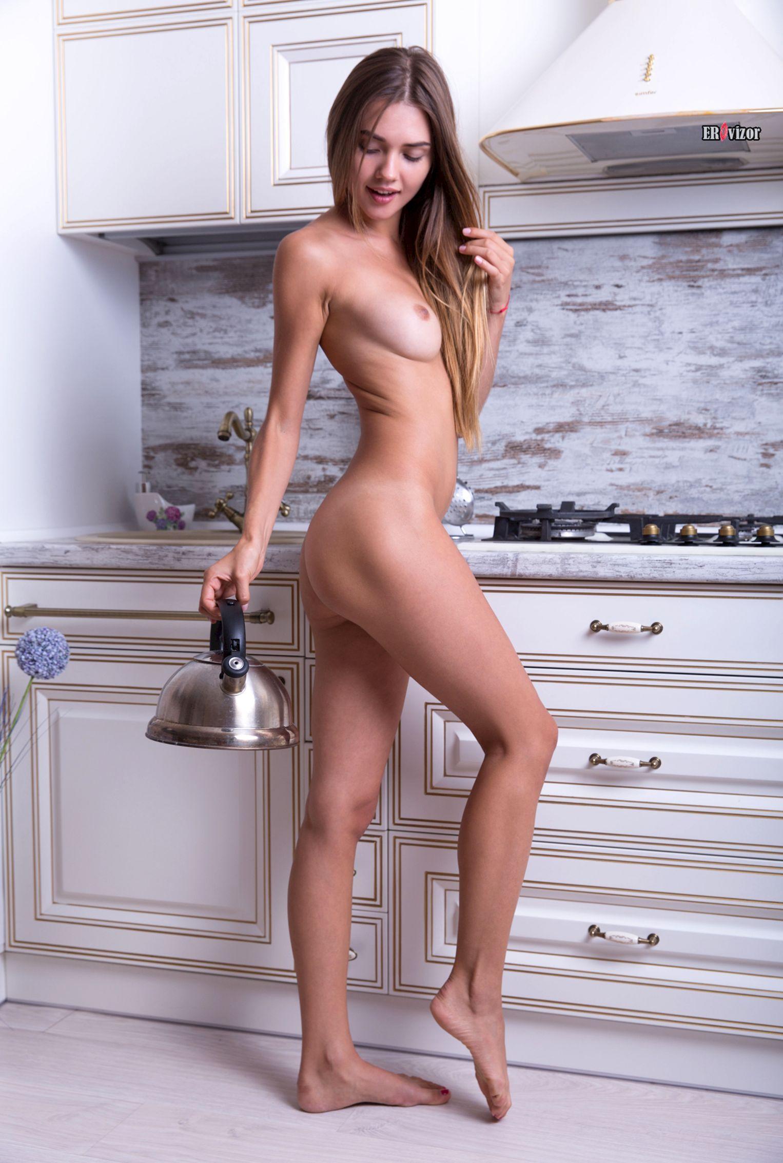 sexy_Georgia_naked_kitchen (2)