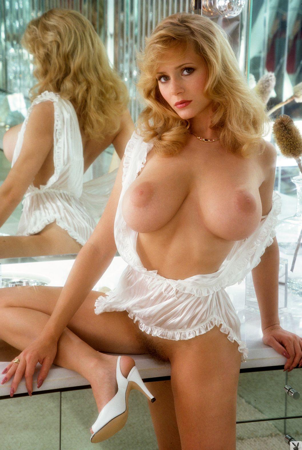 naked Kimberly McArthur – Playmate of January 1982